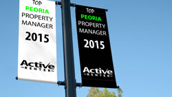 Peoria Property Management Logo