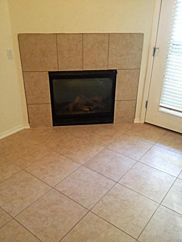 4533 N 22nd ST Living Room Fireplace